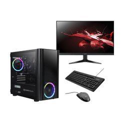 "Infinity Gear  Core 4 Rev.3 PC & Acer 24"" Monitor & Advent Πληκτρολόγιο/Ποντίκι"