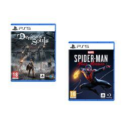 Demon's Souls & Marvel`s Spider-Man: Miles Morales PS5 Games