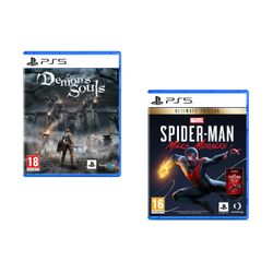 Demon's Souls & Marvel`s Spider-Man: Miles Morales Ultimate Edition PS5 Games