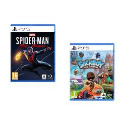 Marvel`s Spider-Man: Miles Morales & Sackboy A Big Adventure PS5 Games