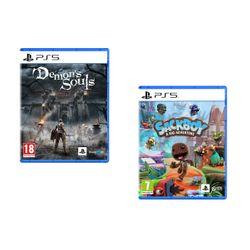 Demon's Souls & Sackboy A Big Adventure PS5 Games