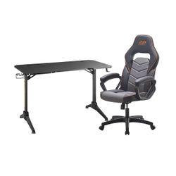 ADX ACHFBA0119 Gaming Καρέκλα & Brateck GMD03-2 Gaming Γραφείο