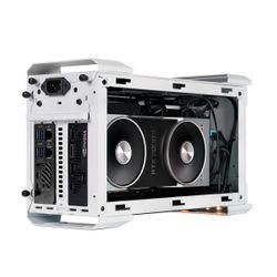 Coolermaster Mastercase NC100 White & SFX V Gold 650W