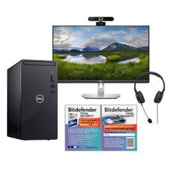 Dell  3831 i3 PC & Monitor S2421HN & Advent Webcam & Headset & Bitdefender Total Security