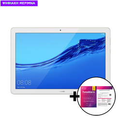 """Huawei  Mediapad T5 10.1"""" 3GB/32GB Wifi Gold Tablet & ZoneAlarm Extreme Security for Institutions 1 Device, 2 Years Software"""