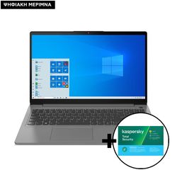 Lenovo  IdeaPad 3 15ITL6 i3-1115G4/8GB/256GB Laptop & Kaspersky Total Security 1 Device, 2 Years Software