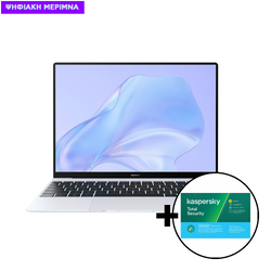 Huawei  MateBook X i5-10210U/16GB/512GB Silver Frost Laptop & Kaspersky Total Security 1 Device, 2 Years Software