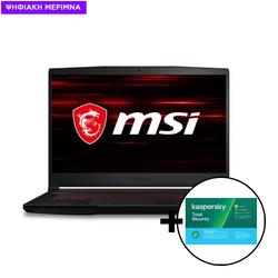 MSI GF63 Thin 10SCR i5-10300H/8GB/512GB/GTX 1650Ti 4GB Laptop & Kaspersky Total Security 1 Device, 2 Years Software