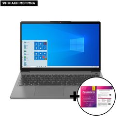 Lenovo  IdeaPad 3 15ITL6 i3-1115G4/8GB/256GB Laptop & ZoneAlarm Extreme Security for Institutions 1 Device, 2 Years Software