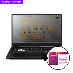 Asus TUF Gaming F17 FX706LI-H7010T i5-10300H/16GB/512GB/GTX 1650Ti 4GB Laptop & ZoneAlarm Extreme Security for Institutions 1 Device, 2 Years Software