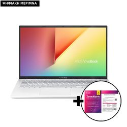 Asus VivoBook 15 X512DA-BQ1196T R7-3700U/8GB/512GB Laptop & ZoneAlarm Extreme Security for Institutions 1 Device, 2 Years Software