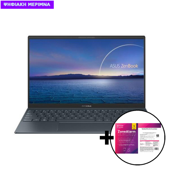 Asus  ZenBook 14 UX425EA-WB501R i5-1135G7/8GB/512GB/W10 Pro Laptop & ZoneAlarm Extreme Security for Institutions 1 Device, 2 Years Software