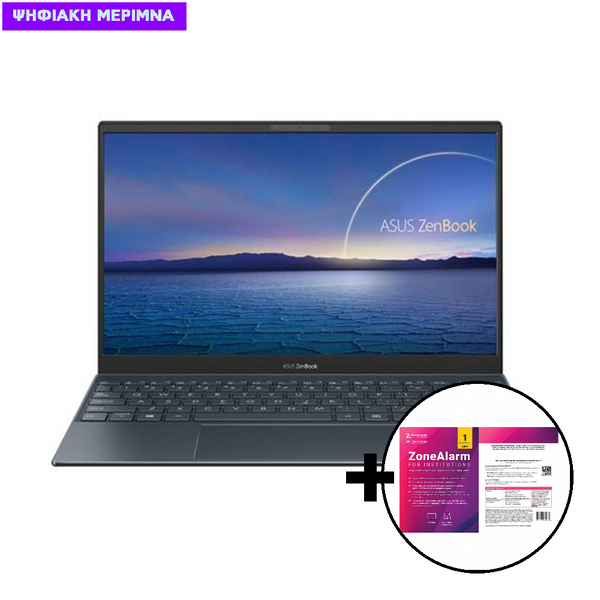 Asus ZenBook 13 UX325EA-WB711R i7-1165G7/16GB/512GB/W10 Pro Laptop & ZoneAlarm Extreme Security for Institutions 1 Device, 2 Years Software