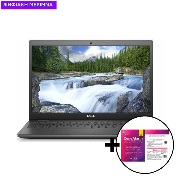 Dell Latitude 3510 i3-10110U/4GB/256GB Laptop & ZoneAlarm Extreme Security for Institutions 1 Device, 2 Years Software
