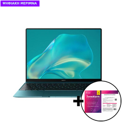 Huawei  MateBook KX i5-10210U/16GB/512GB Green Laptop & ZoneAlarm Extreme Security for Institutions 1 Device, 2 Years Software