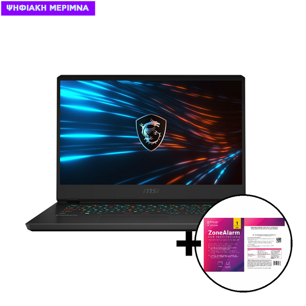 MSI GP66 Leopard i7-10870H/16GB/1TB/RTX 3060 6GB Laptop & ZoneAlarm Extreme Security for Institutions 1 Device, 2 Years Software