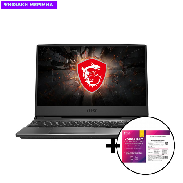 MSI GP65 Leopard 10SFK i7-1075OH/16GB/512GB/RTX 2070 8GB Laptop & ZoneAlarm Extreme Security for Institutions 1 Device, 2 Years Software