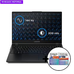 Lenovo  Legion 5 15ARH05 R7-4800H/16GB/512GB/GTX 1650 Ti 4GB Laptop & Bitdefender Total Security (1 Device, 2 Years) Card Software