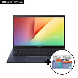 Asus M413IA-EB369T R5-4500U/8GB/512GB Laptop & Bitdefender Total Security (1 Device, 2 Years) Card Software