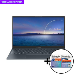 Asus  ZenBook 14 UX425EA-WB501R i5-1135G7/8GB/512GB/W10 Pro Laptop & Bitdefender Total Security (1 Device, 2 Years) Card Software