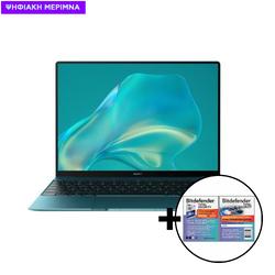 Huawei  MateBook KX i5-10210U/16GB/512GB Green & Bitdefender Total Security (1 Device, 2 Years) Card Software