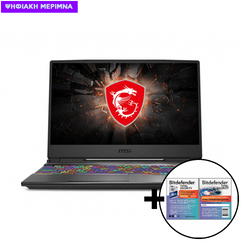 MSI GP65 Leopard 10SEΚ i7-10750H/16GB/512GB/RTX2060 6GB Laptop & Bitdefender Total Security (1 Device, 2 Years) Card Software