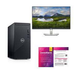"Dell  Inspiron 3881 i3-10100/8GB/1TB PC & Dell 24"" Monitor & ZoneAlarm Extreme Security Antivirus"