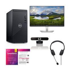 "Dell  Inspiron 3881 i3-10100-8GB-1TB PC & Dell 24"" Monitor & Advent Full HD Webcam & Ακουστικά Headset & ZoneAlarm Extreme Security Antivirus"