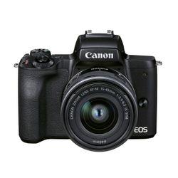 Canon EOS M50 Mark II 15-45 & SB130 Θήκη & 16GB Κάρτα Μνήμης