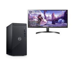 "Dell  Inspiron 3881 i3-10100-8GB-1TB PC & LG 29"" Monitor"