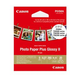 Canon Plus Glossy II (PP-201) 3.5in 20S