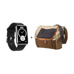 Huawei Watch Fit Elegant Edition Black + Bag