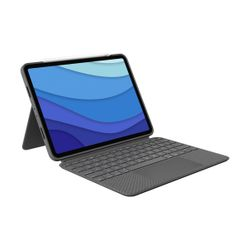 "Logitech Combo Touch 12.9"" UK Grey"