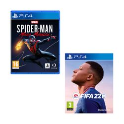 FIFA 22 & Marvel`s Spider-Man: Miles Morales PS4 Games