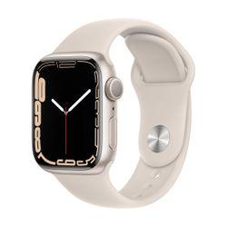 Apple Watch Series 7 41mm Starlight Sportband