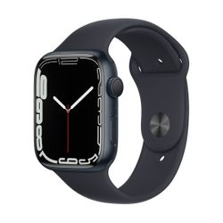 Apple Watch Series 7 45mm Midnight Sportband