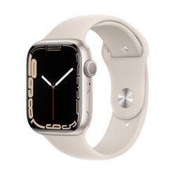 Apple Watch Series 7 45mm Starlight Sportband