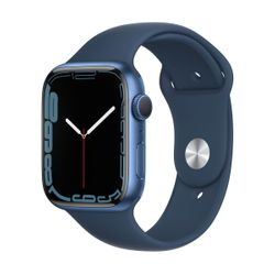 Apple Watch Series 7 45mm Blue Sportband